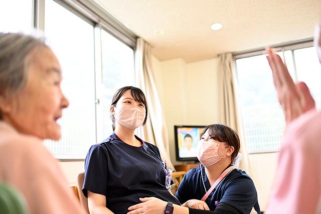 談話室(看護師の妊娠報告)